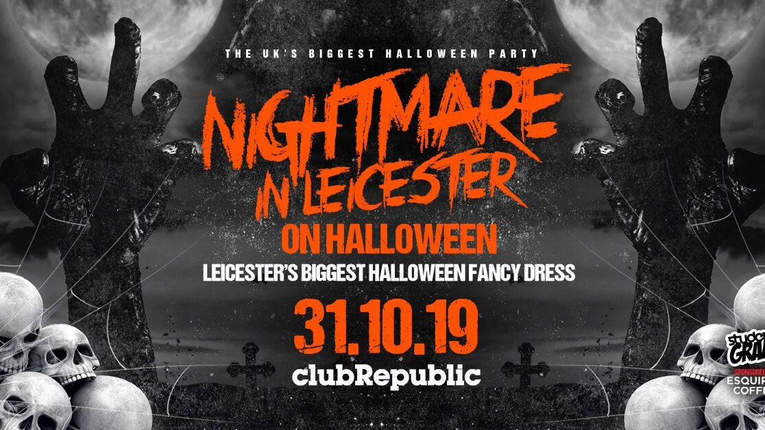 🎃 Halloween at Club Republic 🎃[SOLD OUT] PAY ON DOOR AVAILABLE