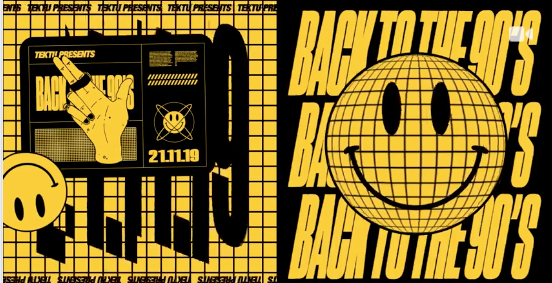 *ONE WEEK to GO* – TEKTU Presents: Back to the 90's