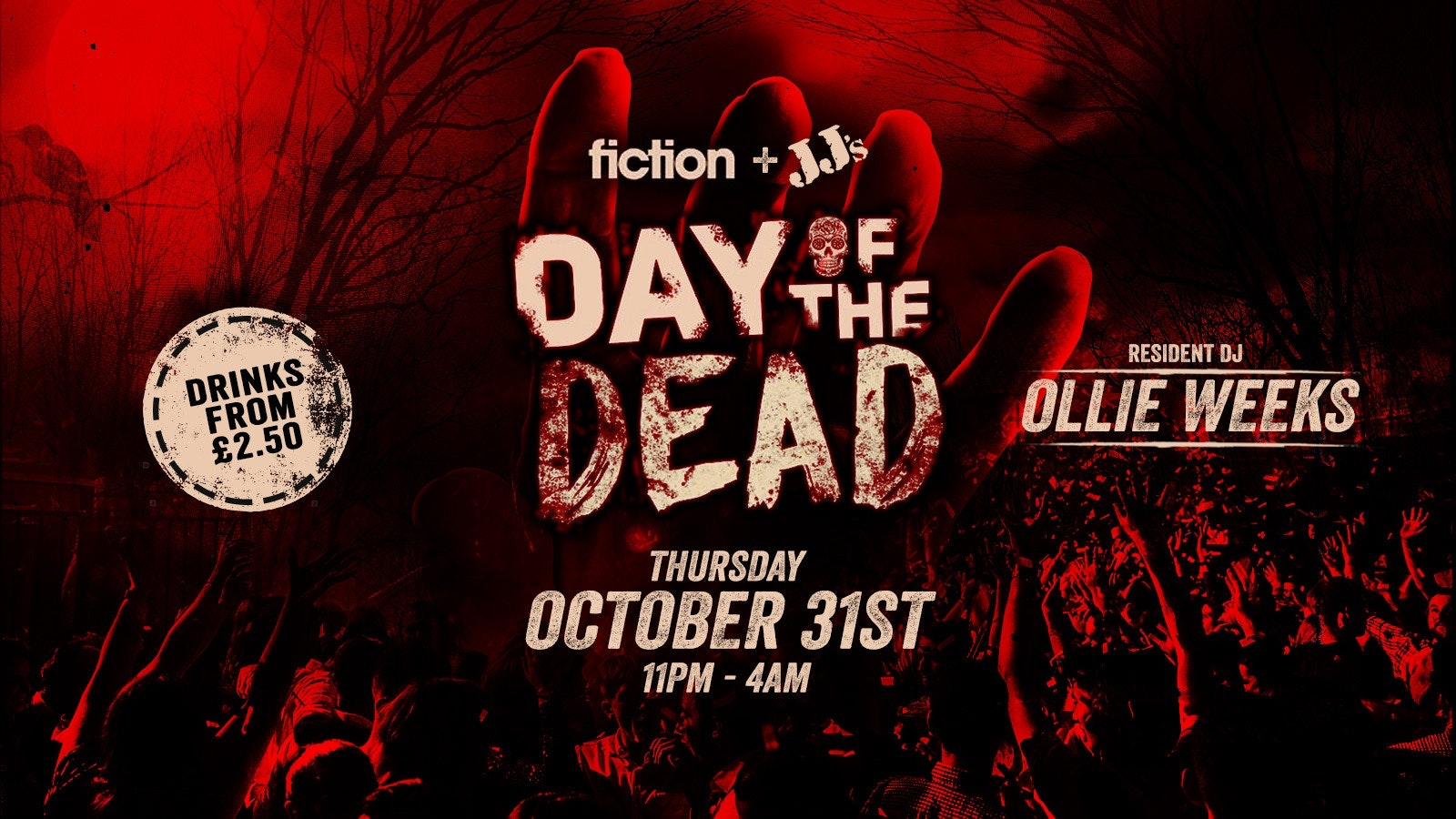 Day of The Dead – Hanley (Keele & Staffordshire) Halloween 2019