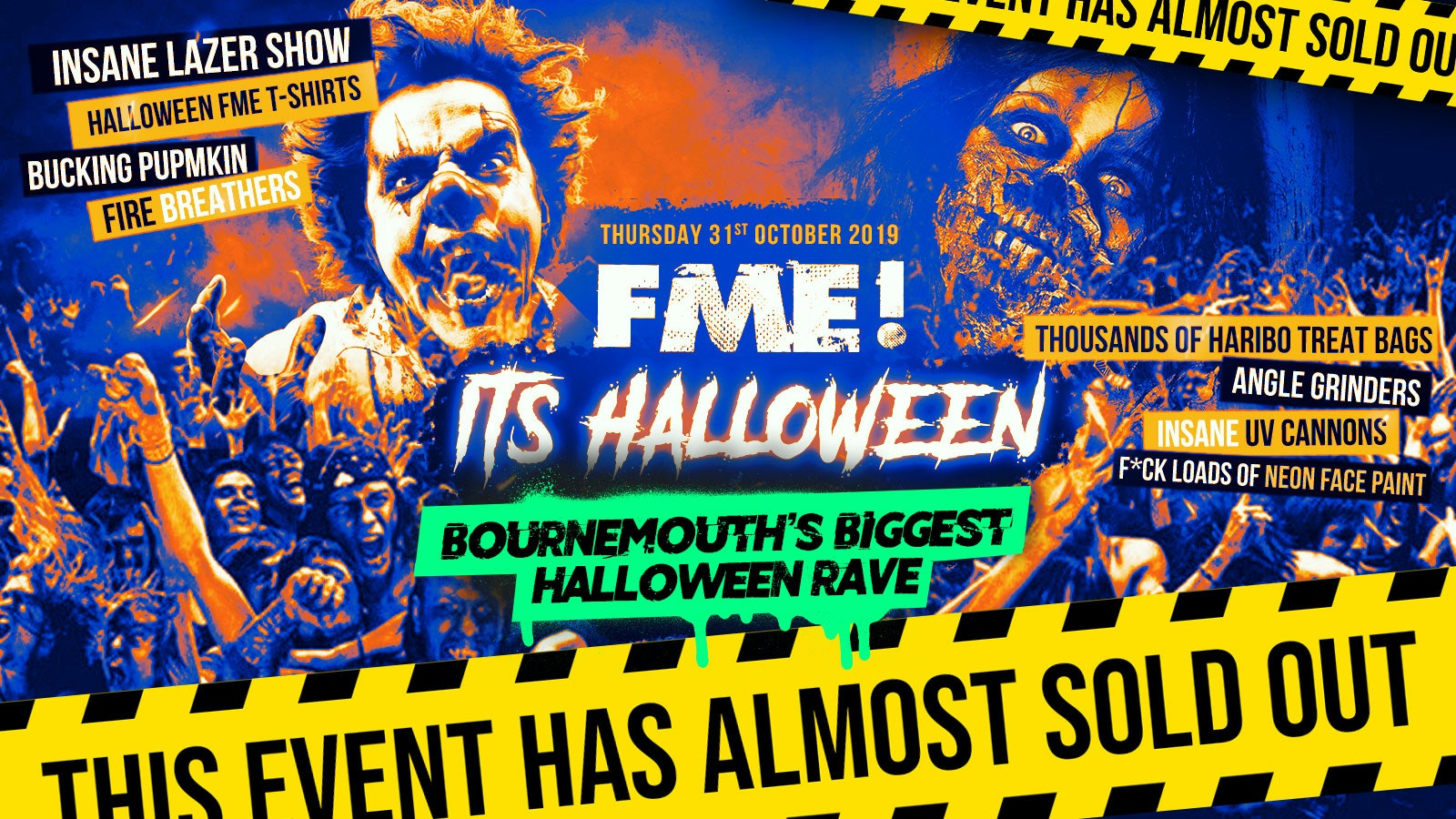 F*ck Me It's Halloween // Bournemouth 2019
