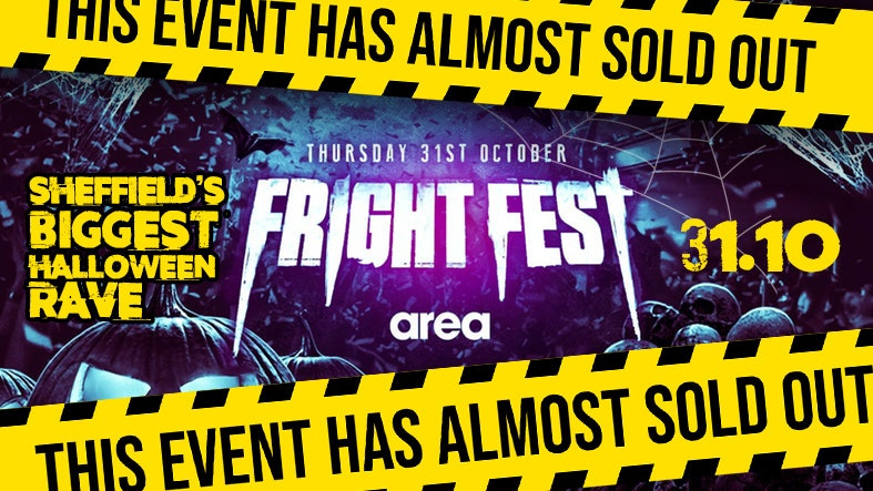 Fright Fest at Area – Sheffield Halloween 2019