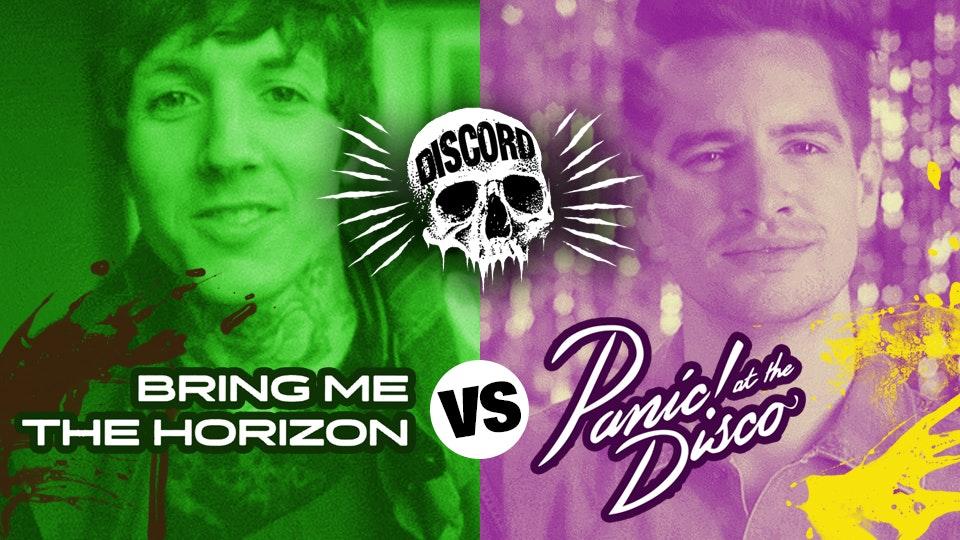 Bring Me The Horizon vs Panic! At The Discord!