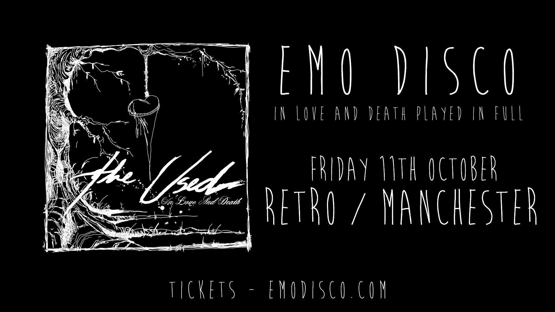 Emo Disco – In Love & Death Special – Manchester