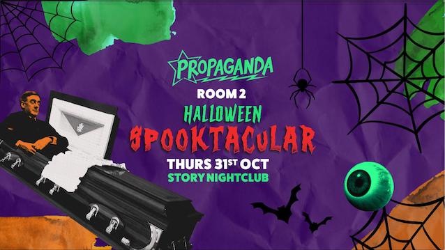 Propaganda Cardiff – Halloween Spooktacular! (Room 2)