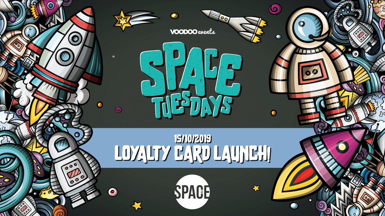 Space Tuesdays : Leeds – Loyalty Card Giveaway