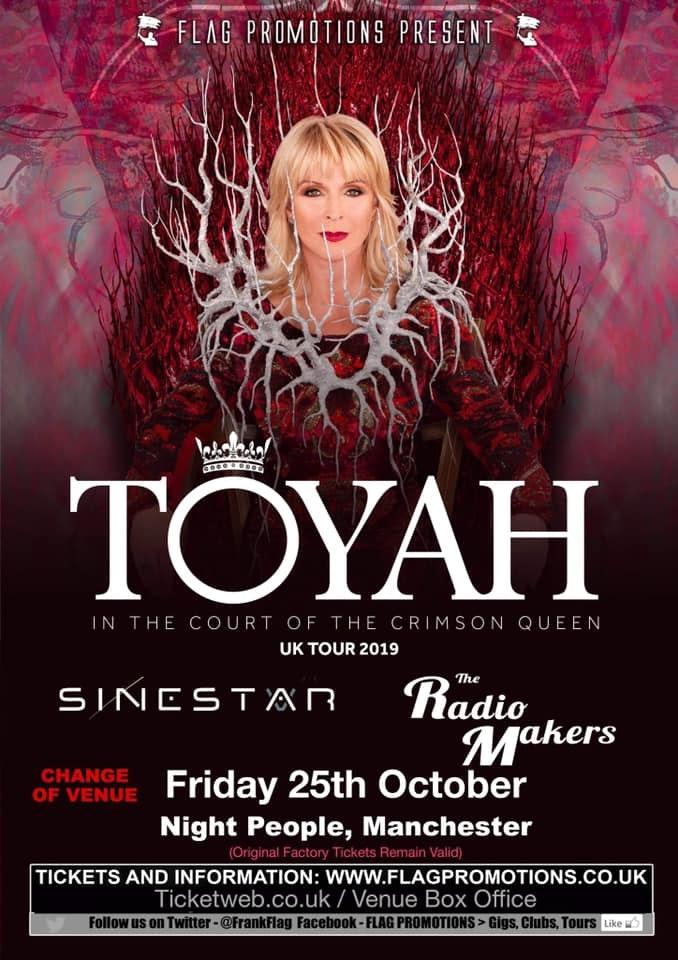 Toyah   The Crimson Queen Tour