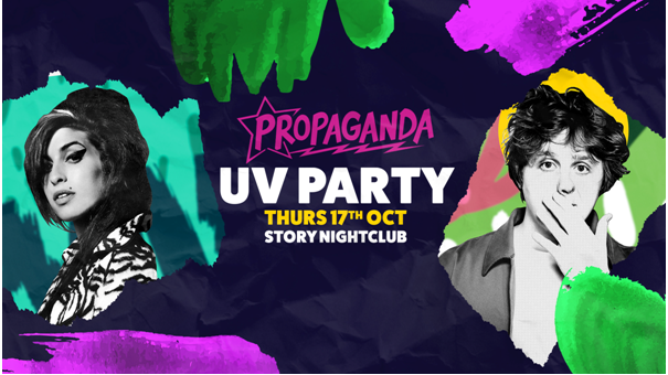Propaganda Cardiff – UV Party