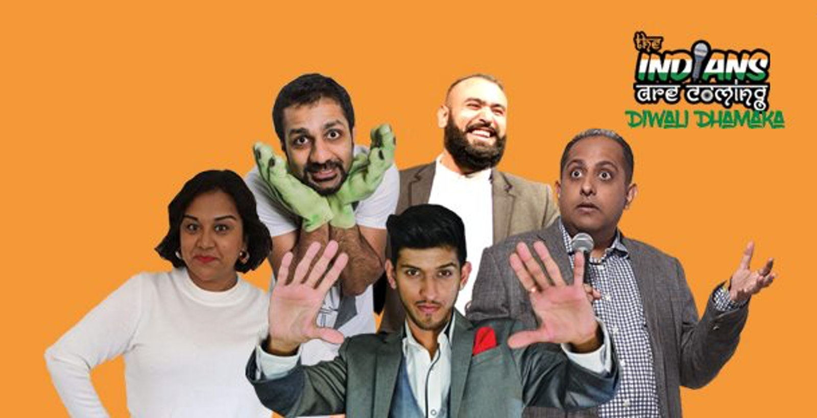 The Indians Are Coming : Diwali Dhamaka – Coventry ** Extra Show Added **