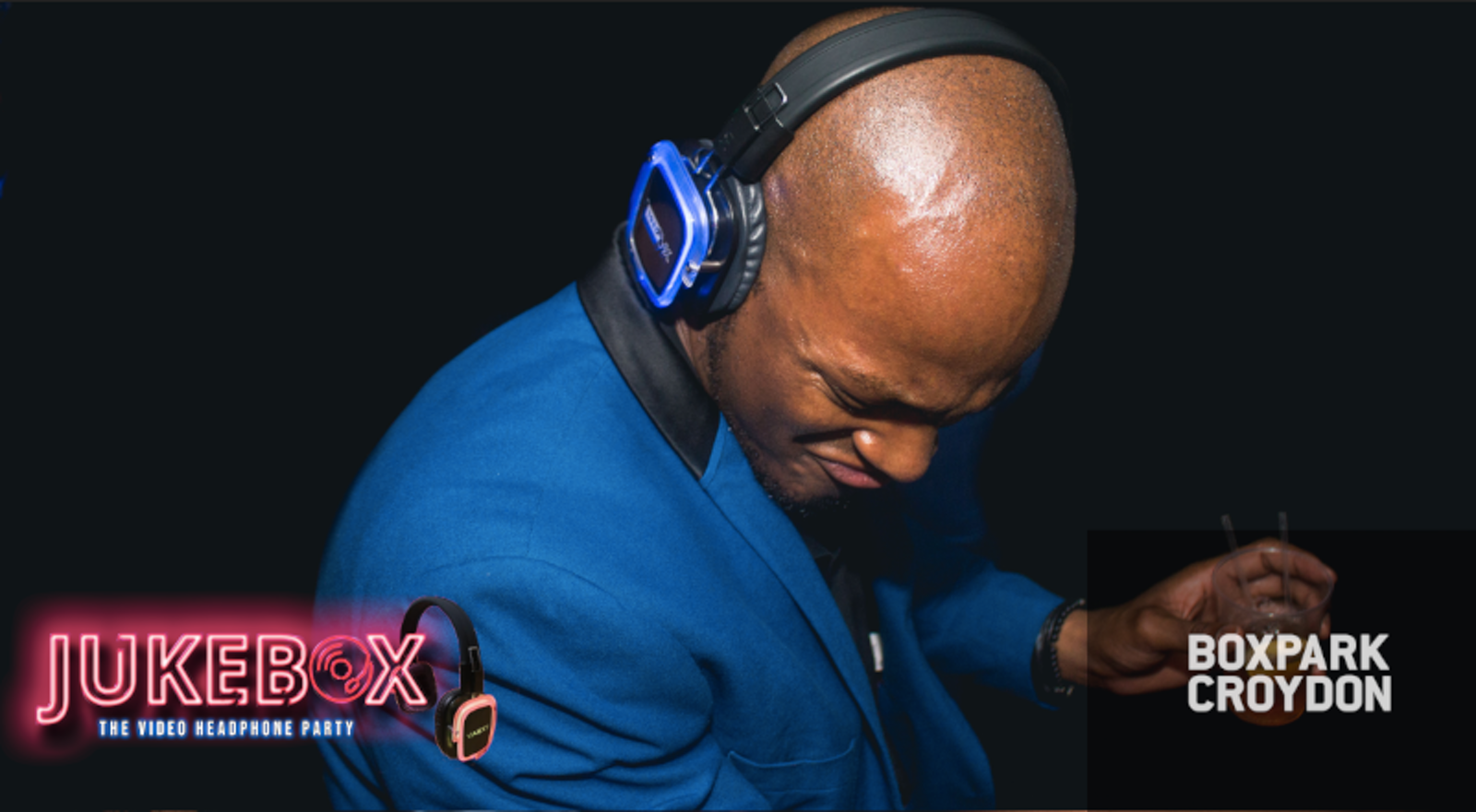 Jukebox – Headphone party @Boxpark Croydon