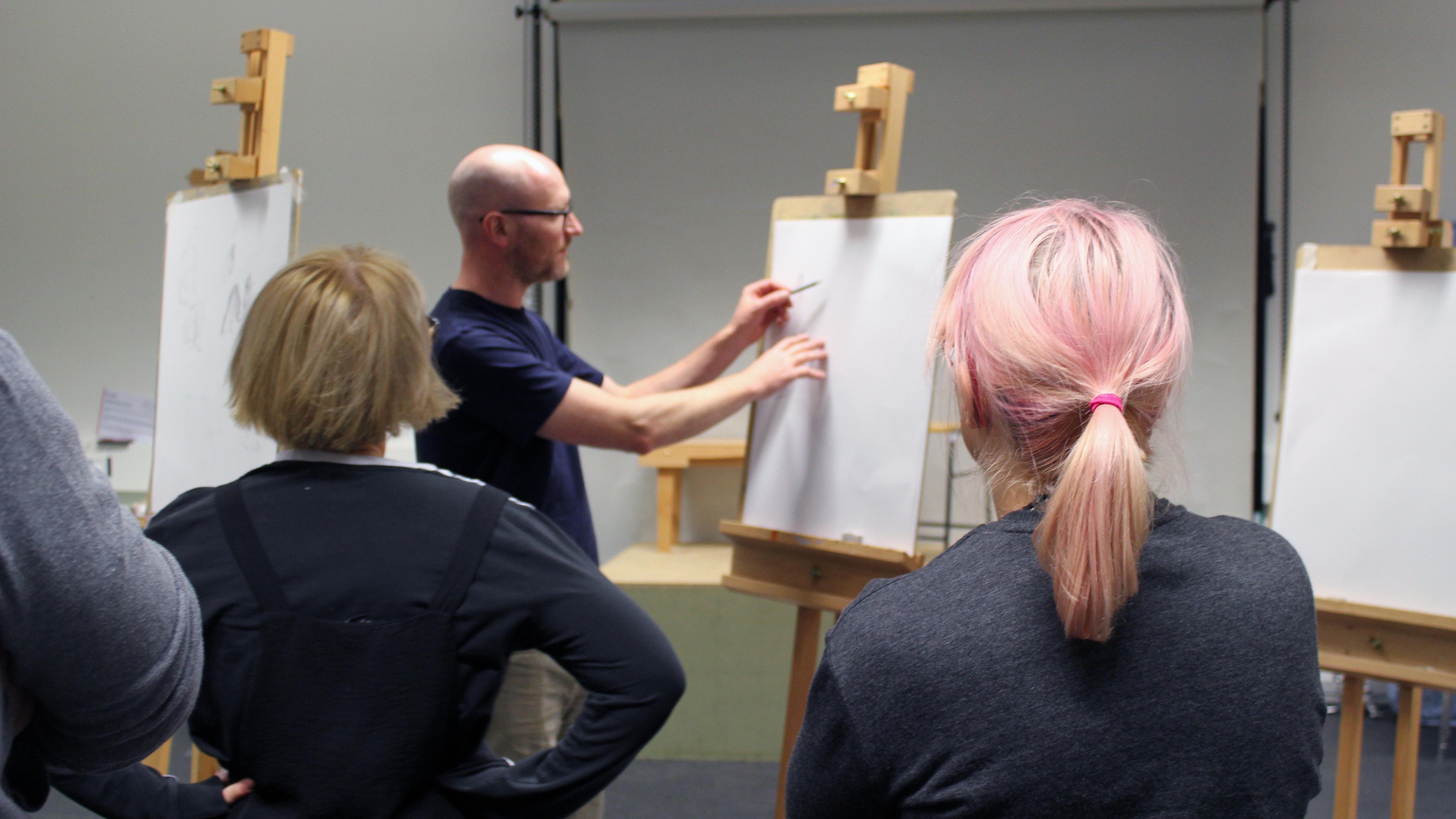 Life Drawing for Animators