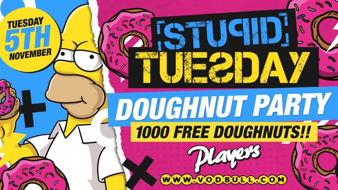 Final 25 Tickets 🍩 Stuesday Doughnut Party 🍩