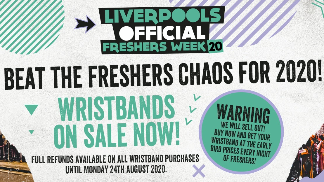 Liverpool's Official Freshers 2020