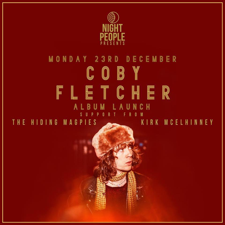 Coby Fletcher Album Launch
