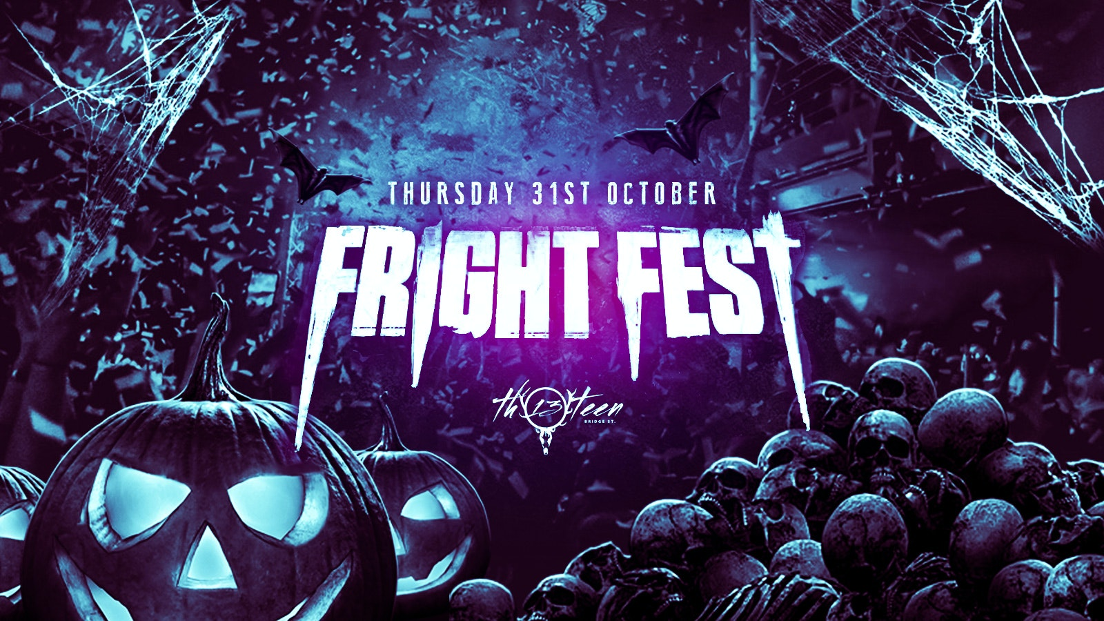 First 100 Tickets Sold Out – Fright Fest – Surrey / Guildford Halloween 2019