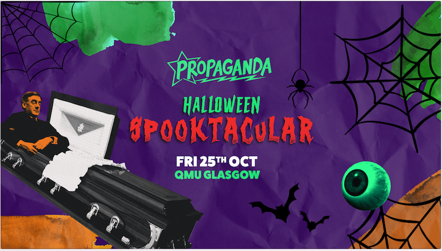 Propaganda Glasgow – Halloween Spooktacular!