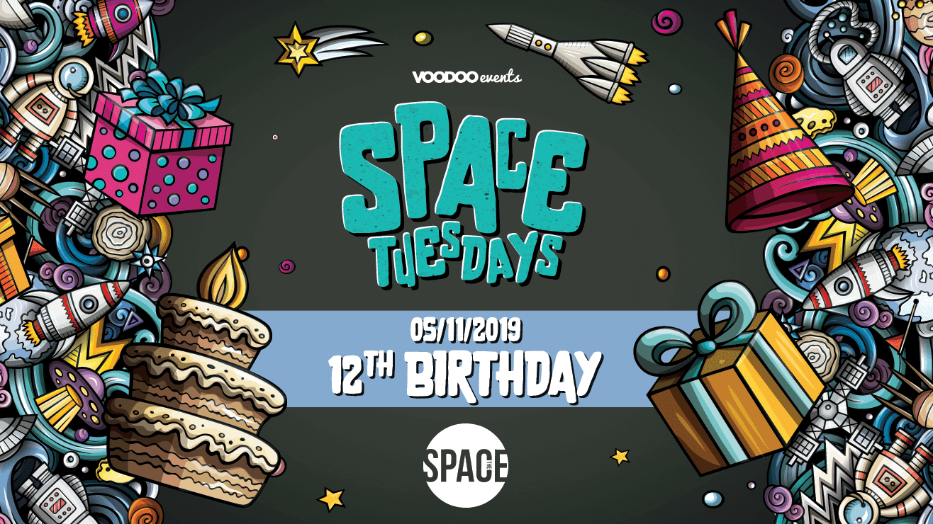 Space Tuesdays : Leeds – 12th Birthday