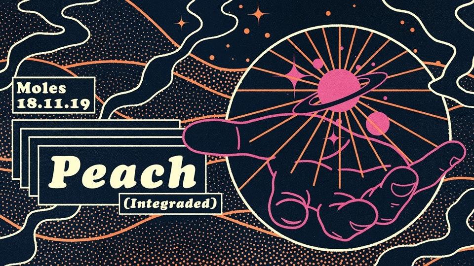 Multicolour: Peach