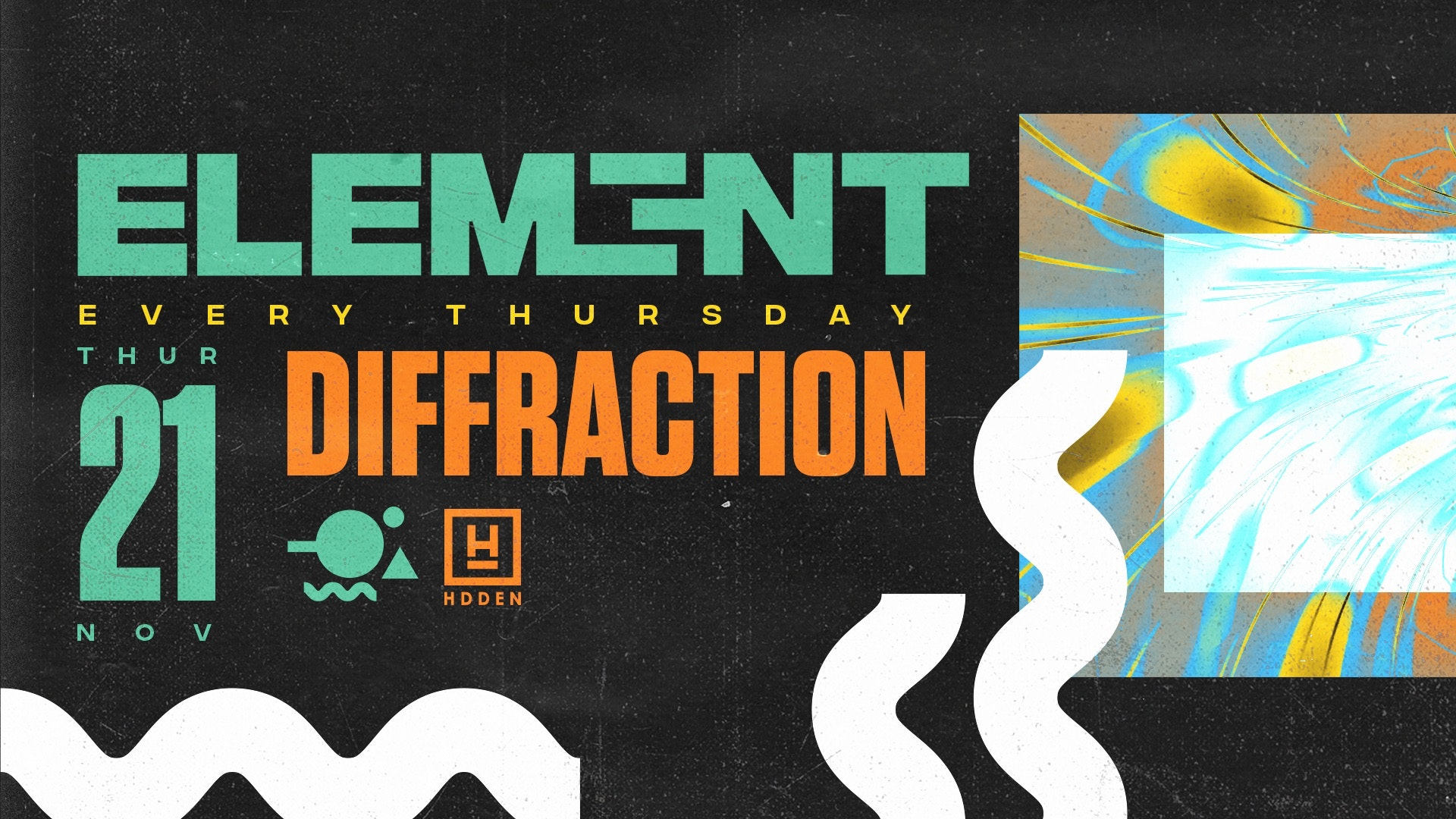 Element presents Diffraction Disco