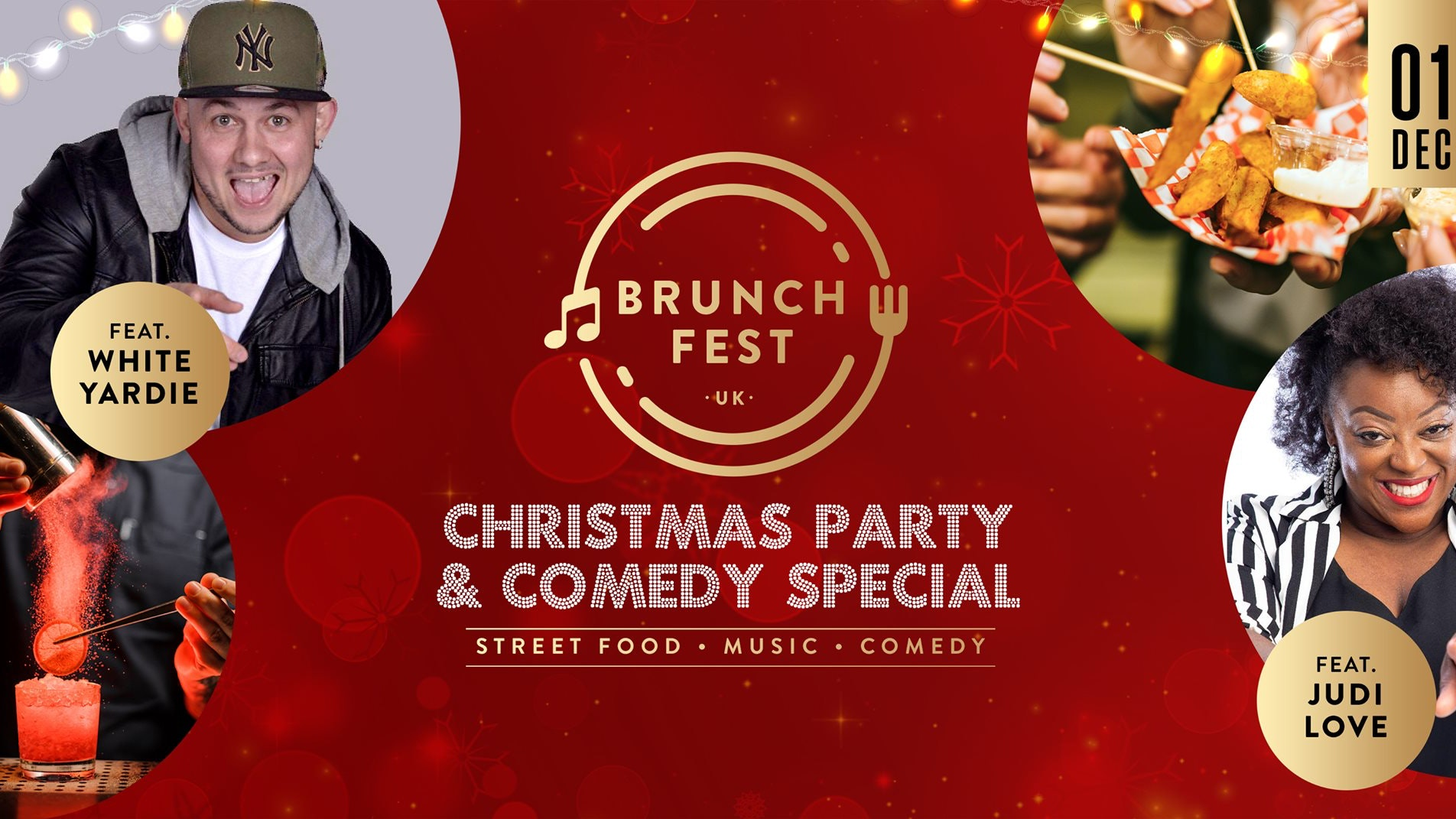 Brunchfest UK Christmas Party & Comedy Special