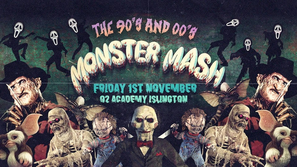 The Monster Mash 👻90's and 00's Halloween Party