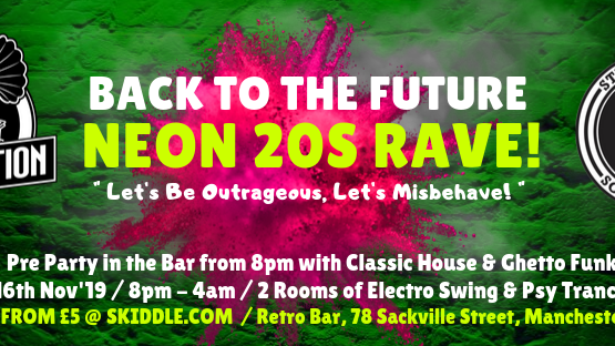 Prohibition & Strange Daze: Neon 20s Rave!