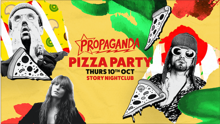 Propaganda Cardiff – Pizza Party!