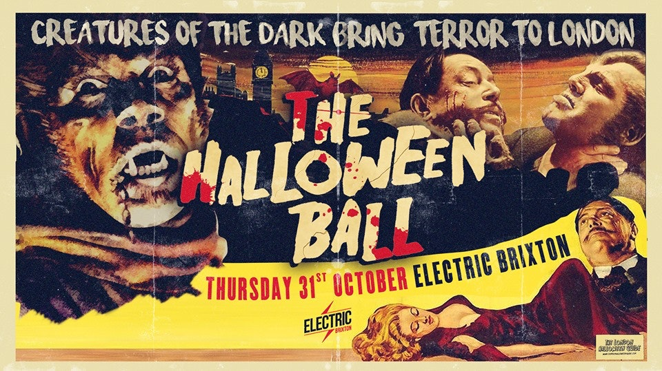 The Halloween Ball at Electric Brixton – Tickets Out Now!