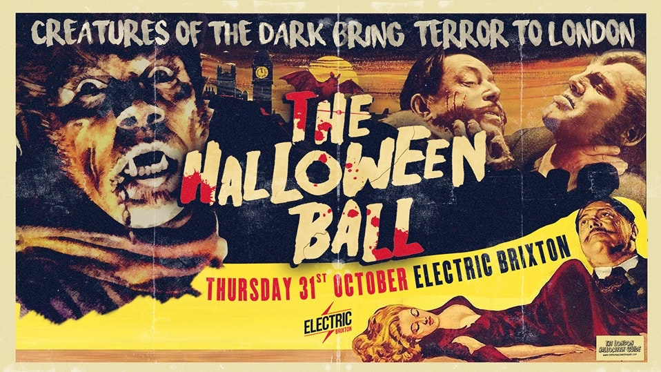 🚫Sold Out 🚫The Halloween Ball at Electric Brixton – Tickets Out Now!