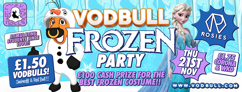 Vodbull FROZEN PARTY!!