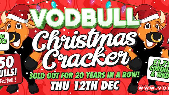 Vodbull **200 TICS ON THE DOOR** ☃️ CHRISTMAS CRACKER!! ☃️