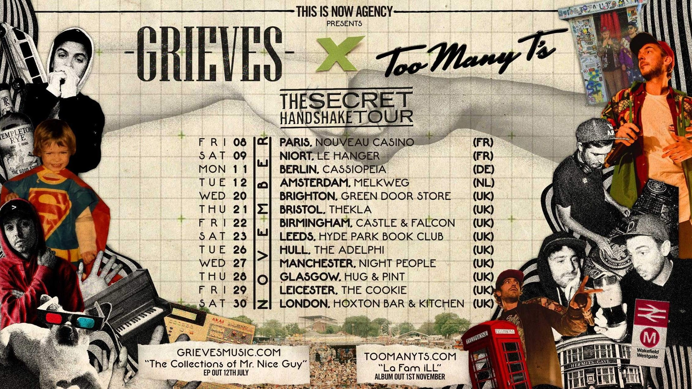 Too Many T's & Grieves Co-headline – Leicester