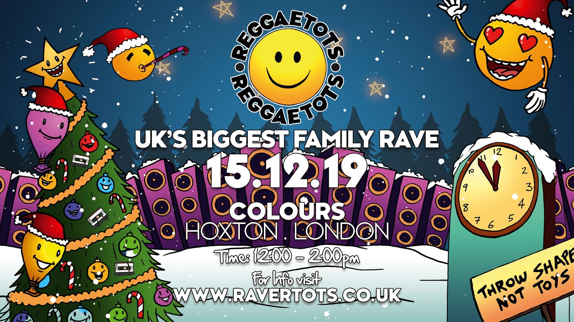 Reggae Tots Xmas Party!