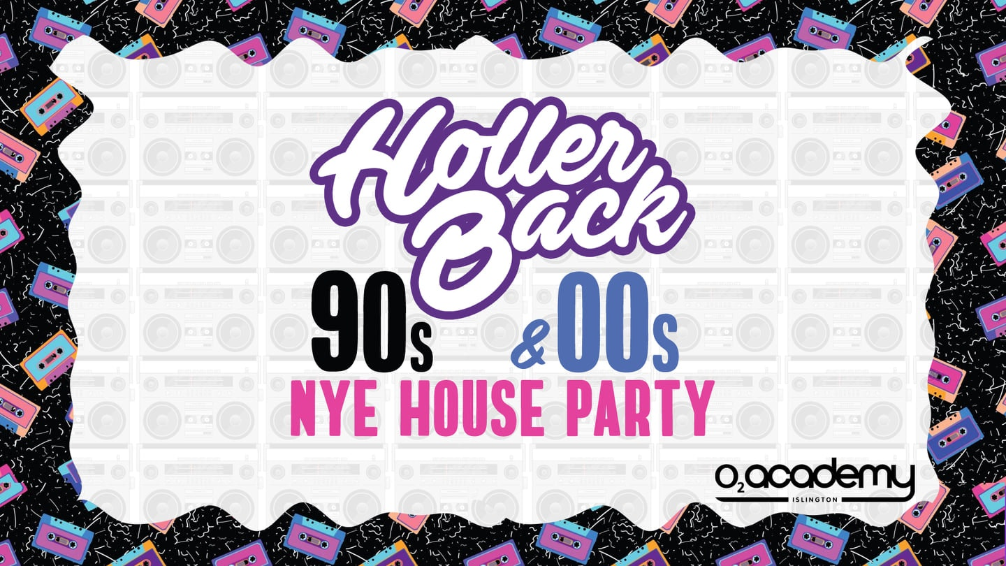 The 90's & 00's New Years Eve House party Hosted by Holler Back!