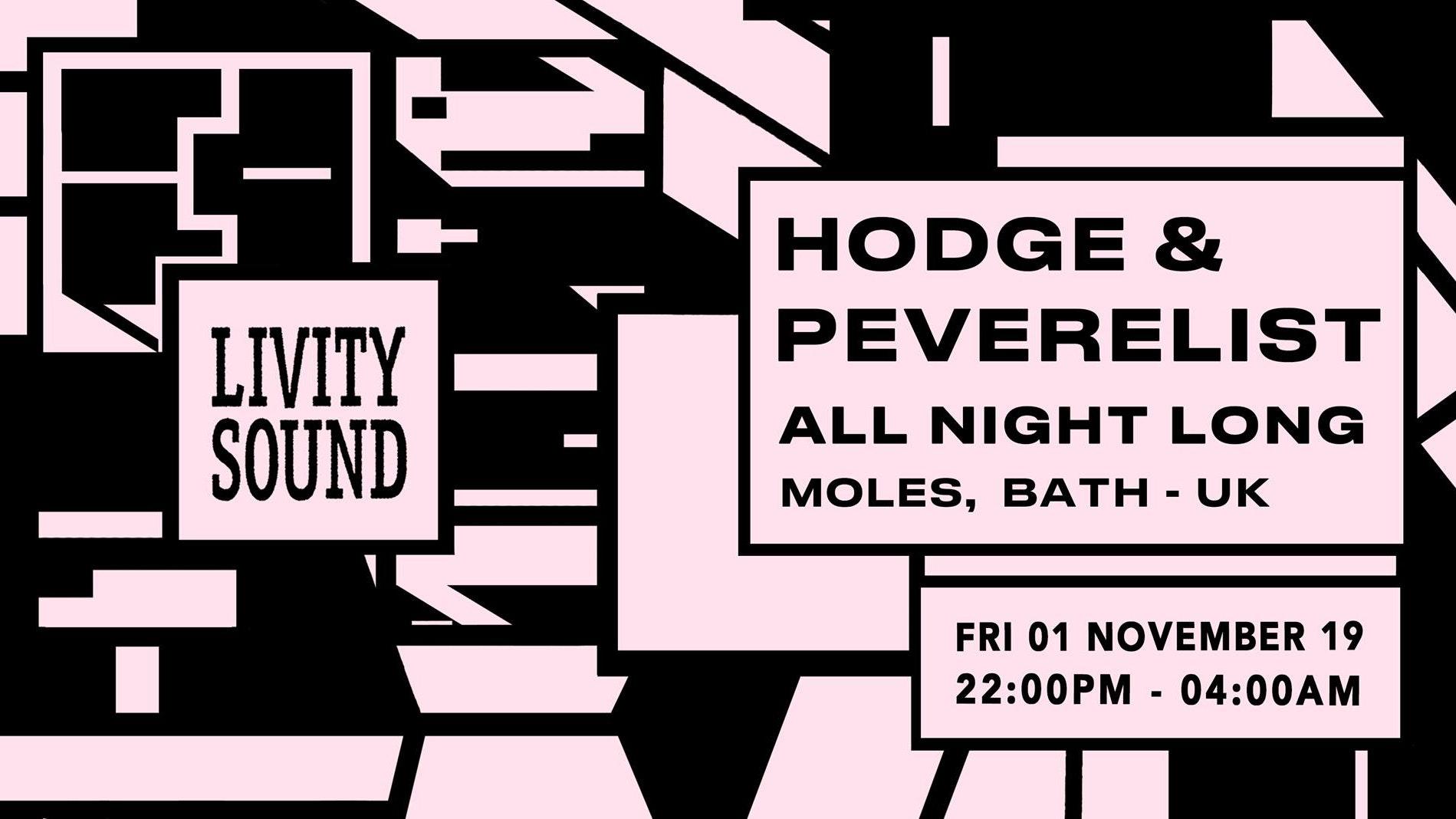 Livity Sound w/ Hodge & Peverelist