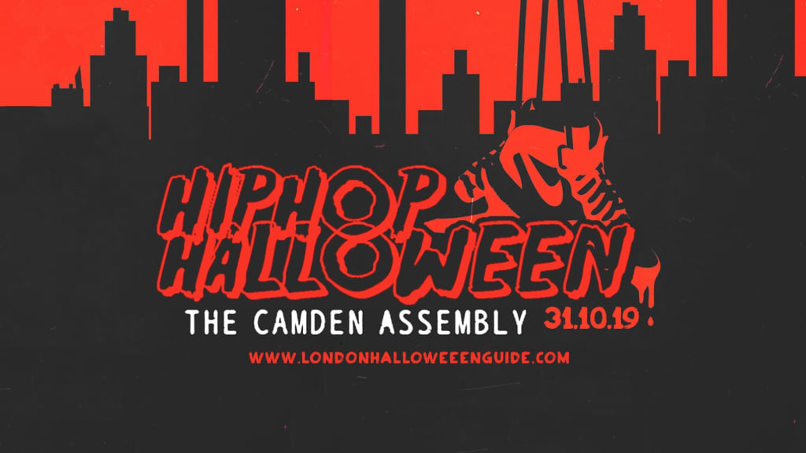 The HipHop Halloween 2019 – Camden