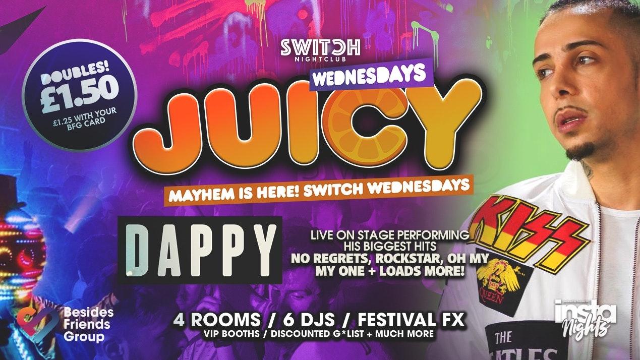 Juicy Ft Dappy – 16th Oct