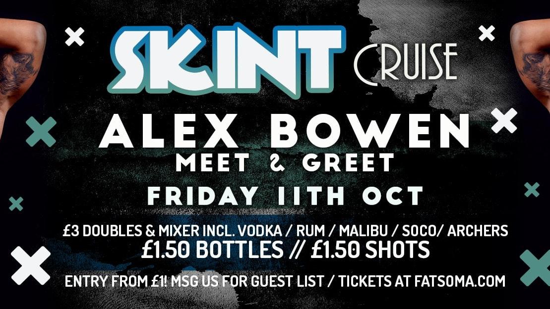 SKINT Fridays Chester – with Alex Bowen