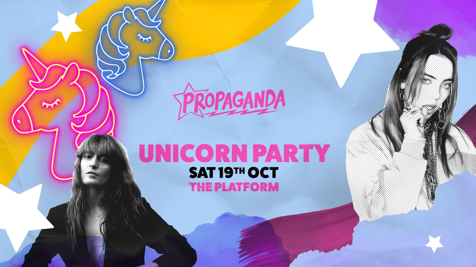 Propaganda Northampton – Unicorn Party!