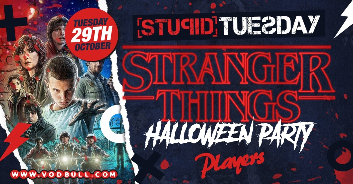 🎃 Stuesday – Stranger Things Halloween Rave 🎃