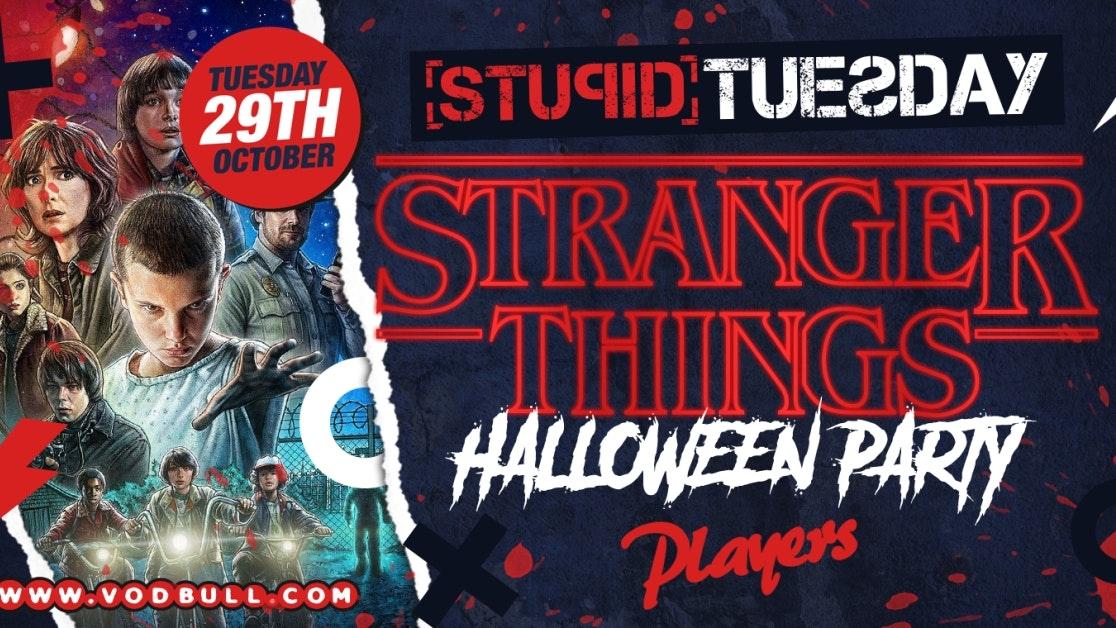 🎃 Stuesday – Stranger Things Halloween Rave 🎃