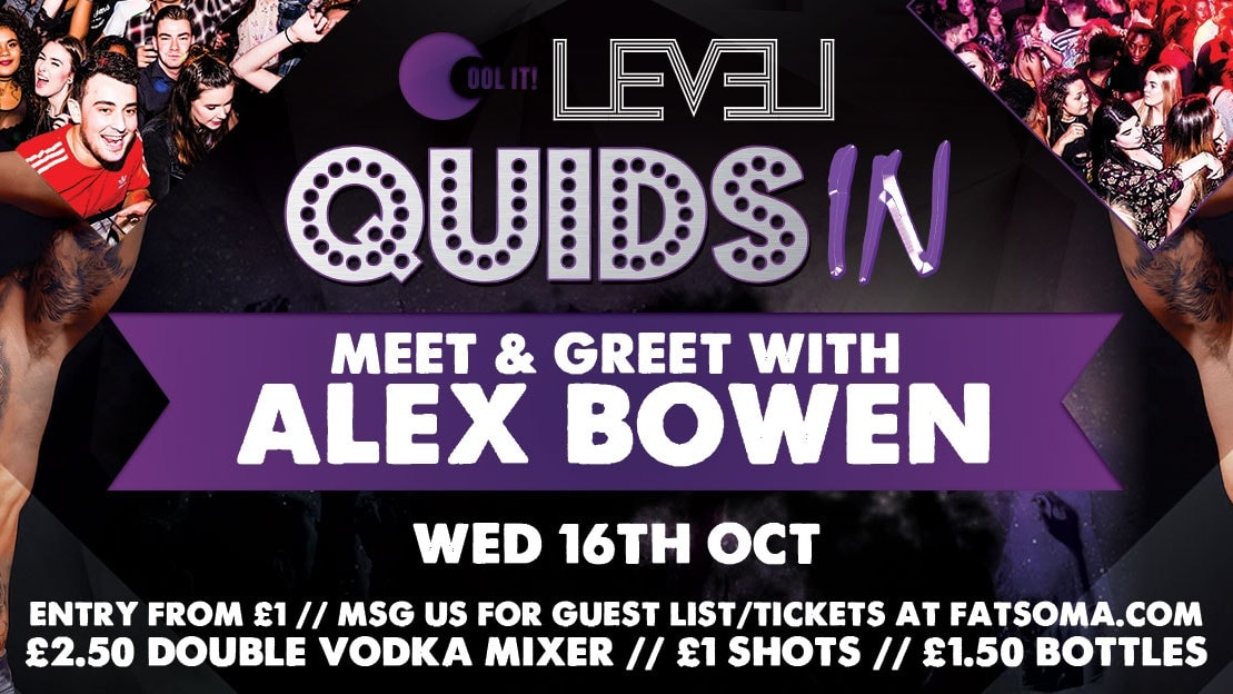Quids In Wednesdays – with Alex Bowen