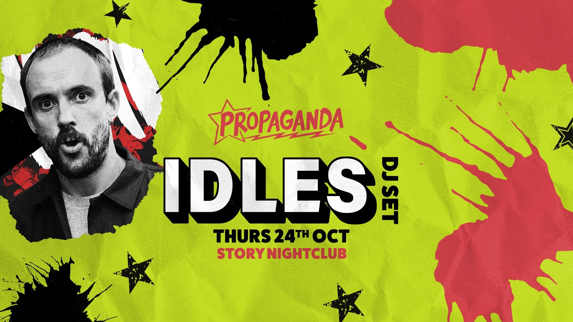 Propaganda Cardiff – Idles (DJ Set)!