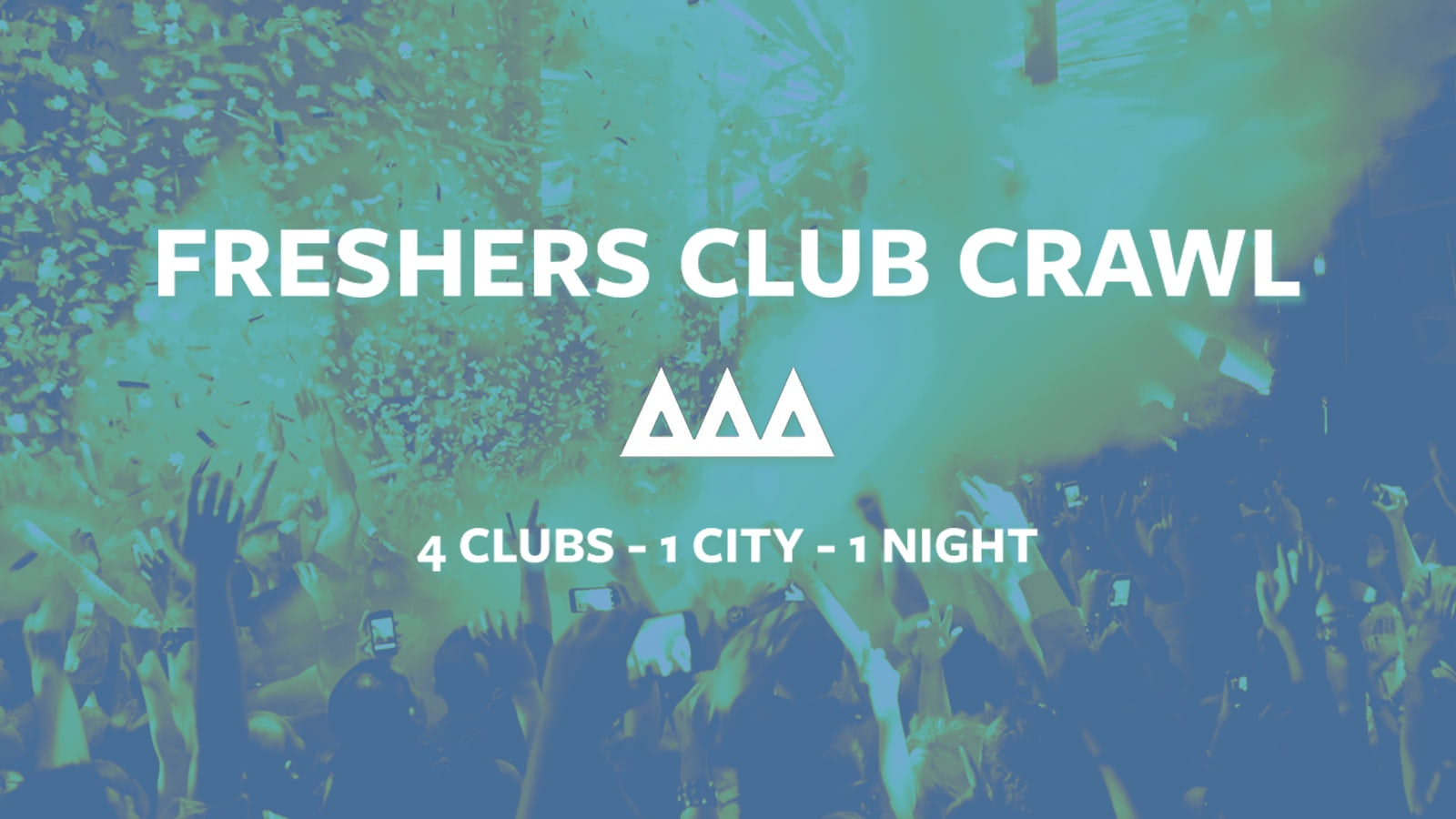 Access All Areas – The Friday Night Club Crawl   £5 Drinks £3.50 Drinks