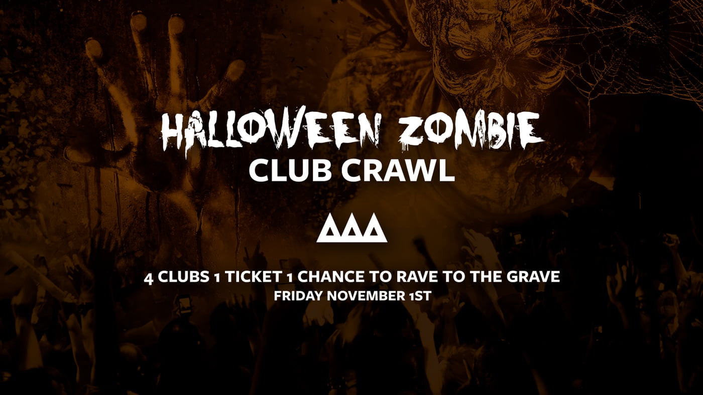 Access All Areas – Zombie Halloween Club Crawl Part 2