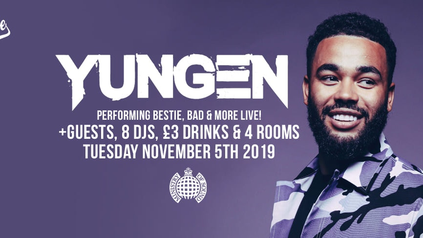 Milkshake, Ministry of Sound | Feat: YUNGEN (live) + More