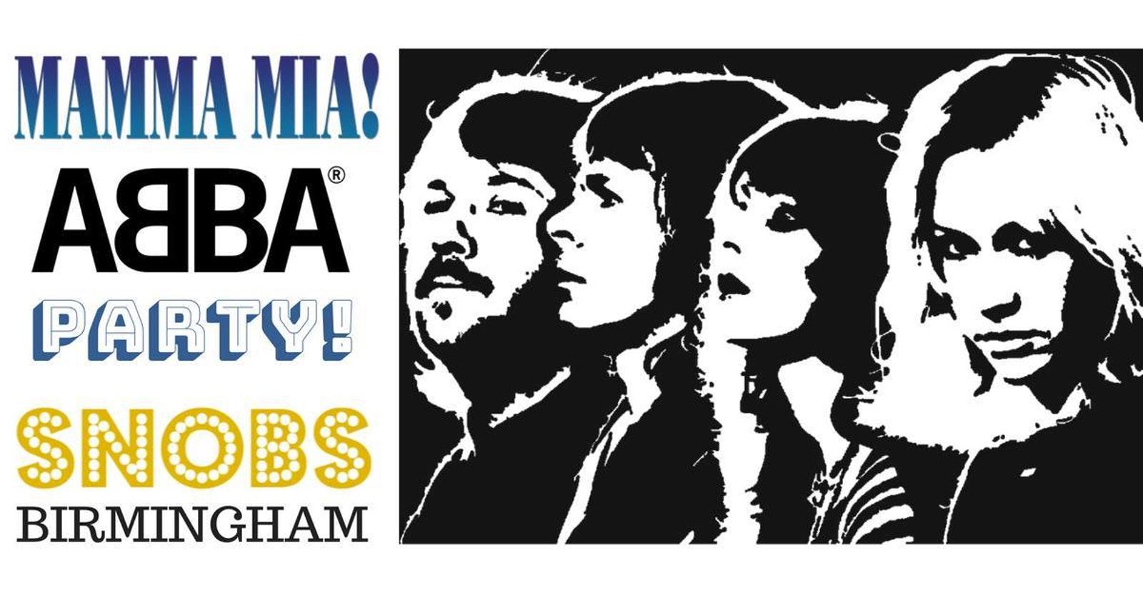 Mamma Mia ABBA Party At Snobs