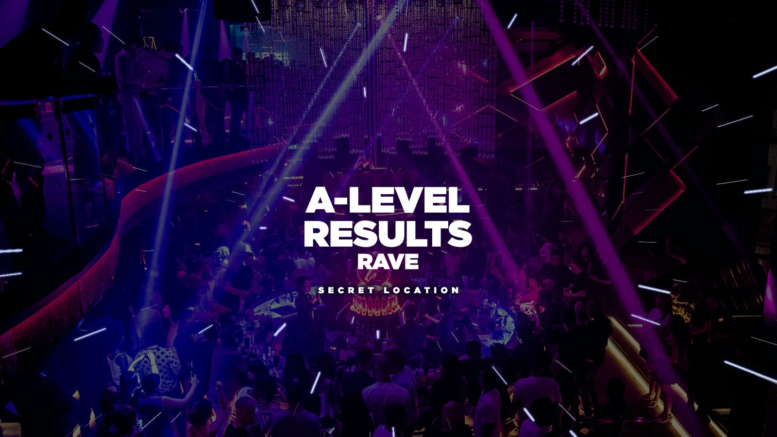 Neon Glow Rave: A-level Results Night // Cameo Bournemouth