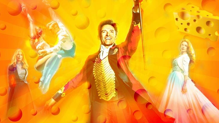The BIG Greatest Showman Cheese!