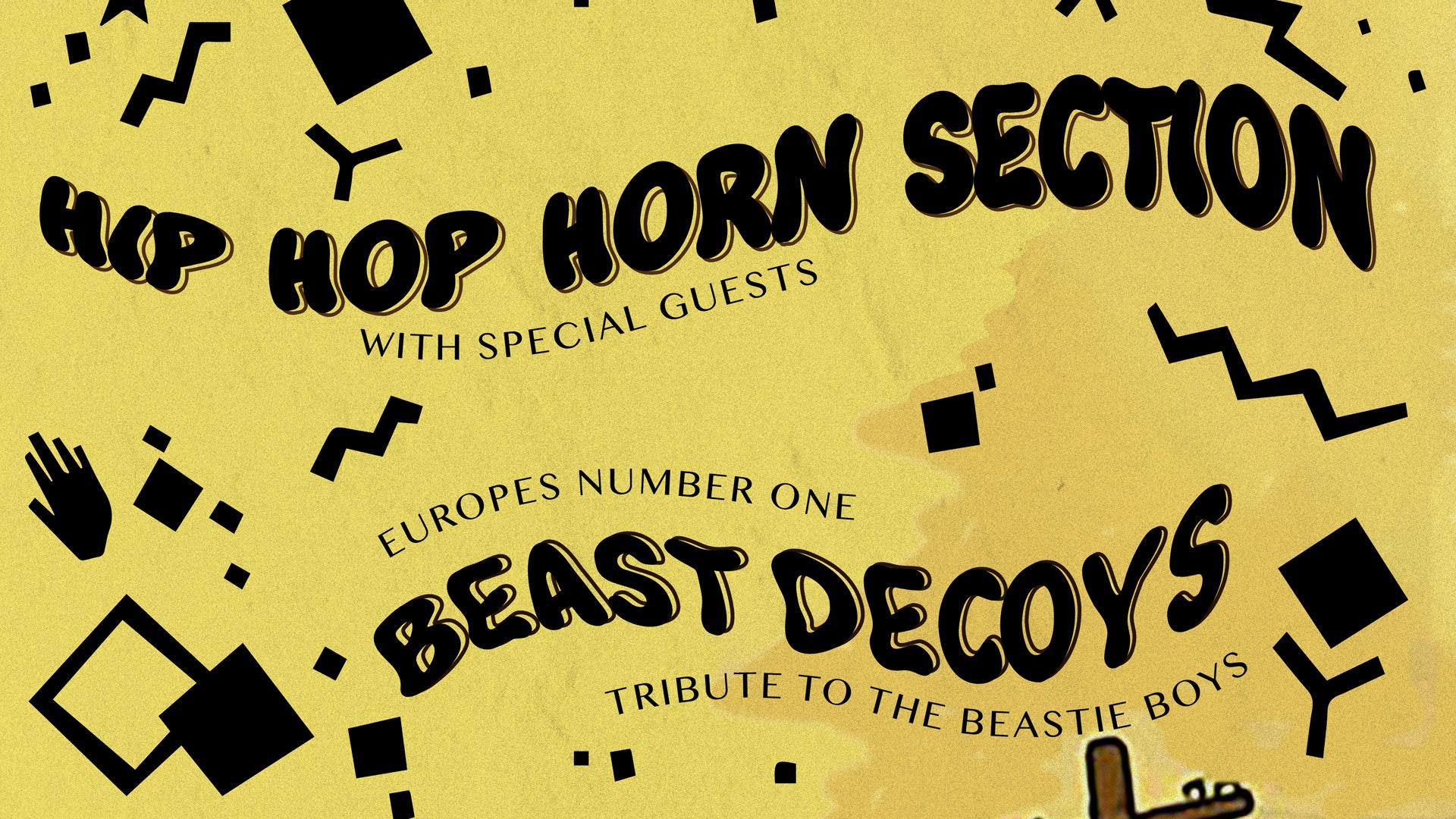 Hip Hop Horn Section + the Beast Decoys