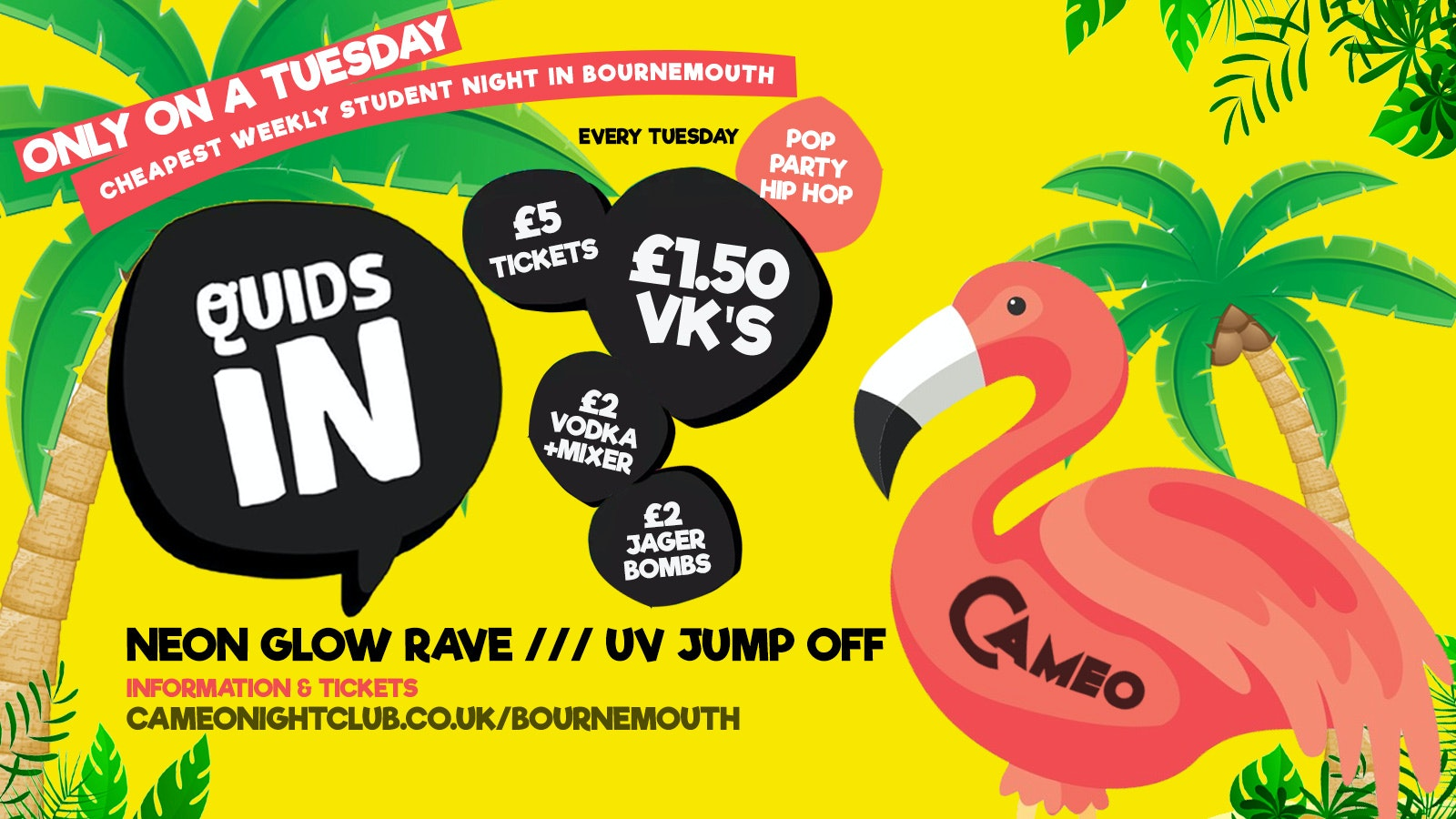 Quids In // 12.11 // Cameo Every Tuesday